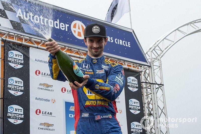 Alexander Rossi verlengt contract bij Andretti