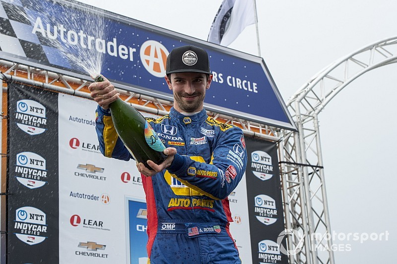 Rossi and Honda re-sign with Andretti Autosport