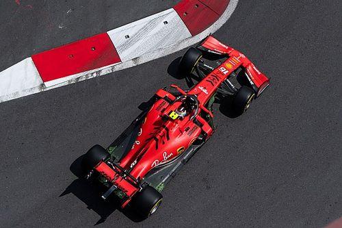 Leclerc przed Vettelem