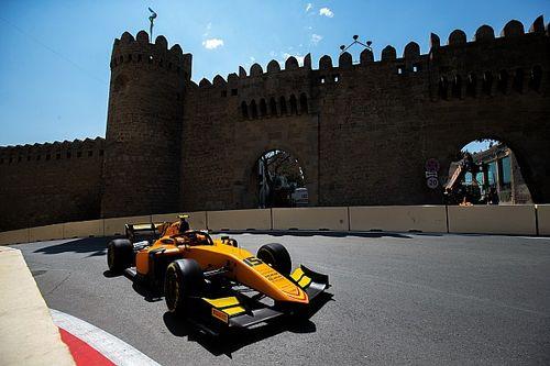 F2 Baku: Aitken klopt De Vries in chaotische hoofdrace
