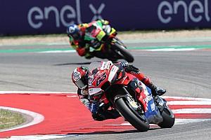 Bagnaia celebró el primer top 10 en su tercera carrera en MotoGP