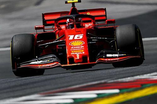Леклер стал лучшим во второй пятничной тренировке, Ферстаппен и Боттас разбили машины