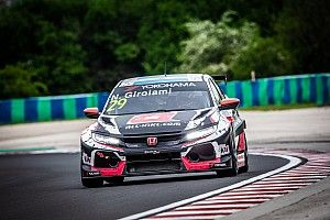 Hungary WTCR: Girolami doubles up in wet Race 2