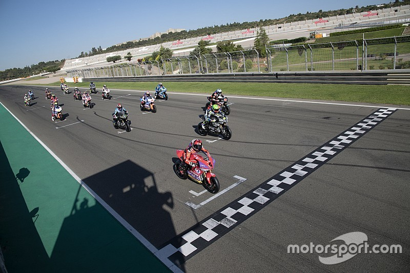 MotoE race simulation in Valencia won by Granado