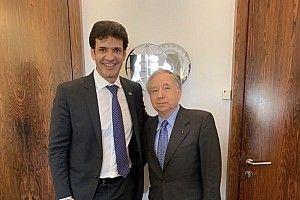 Ministro do Turismo visita presidente da FIA para debater F-E no Brasil