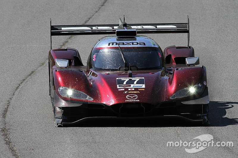"Mazda ""so close"" to first IMSA win, says Nunez"
