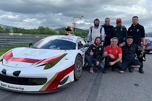 GT Italiano: Alberto Lippi nella serie Sprint a Vallelunga con Sernagiotto