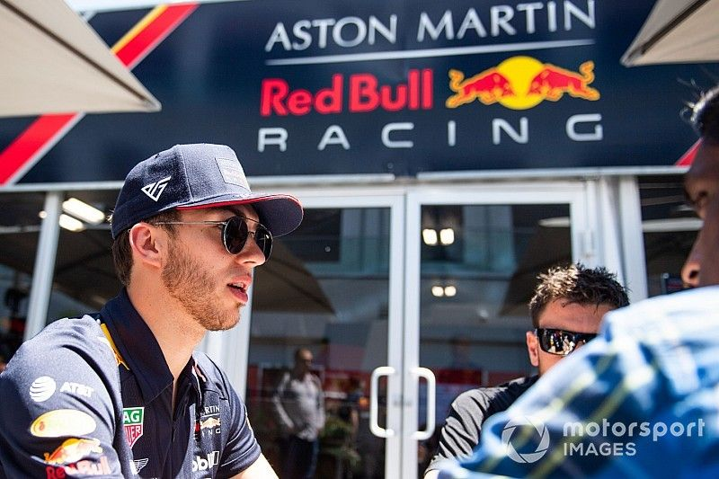 """Gasly brushes off """"bullshit"""" speculation over Red Bull future"""