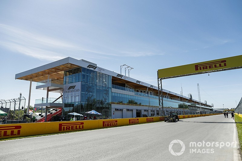 Teljes pompájában az új F1-es pit-épület Kanadából