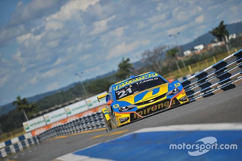 Mais rápido do dia, Camilo bate Valdeno e lidera 2º treino da Stock Car em Londrina