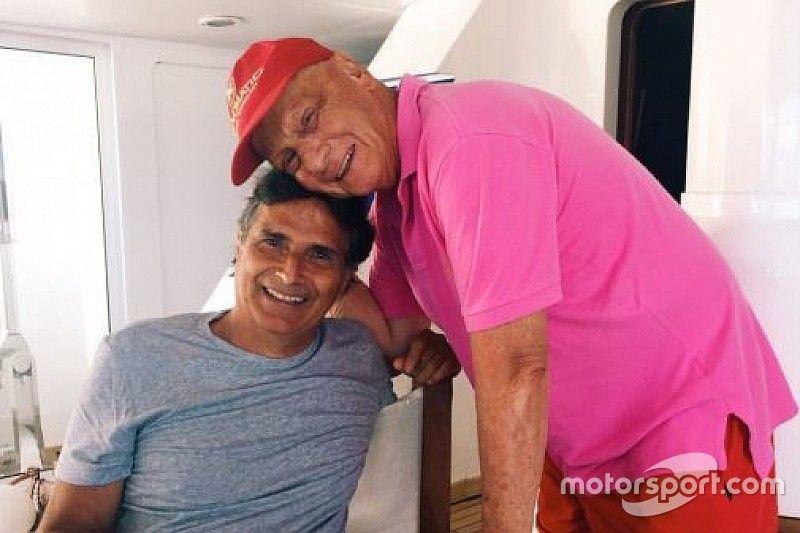 Filho de Nelson Piquet: 'Lauda foi o único amigo do meu pai na F1'