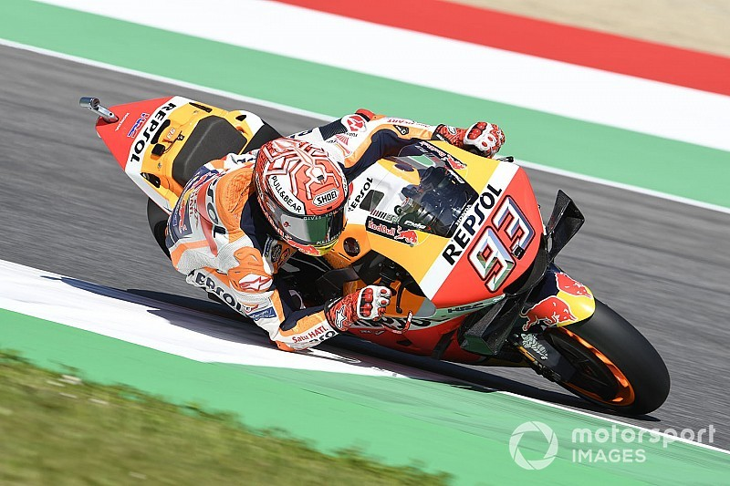 Mugello MotoGP: Marquez leads Petrucci in first practice