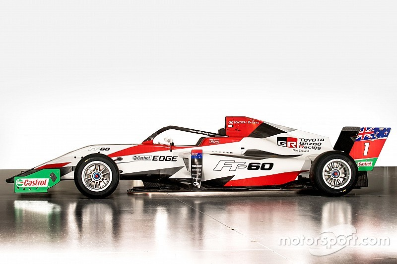 Faster new Toyota Racing Series car breaks cover
