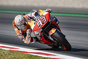 Barcelona MotoGP: Marquez wins, Lorenzo triggers pile-up