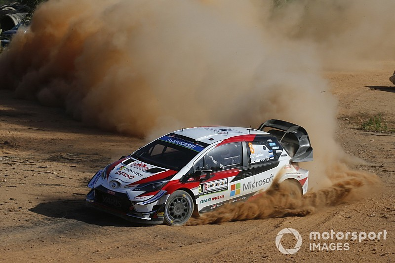 WRC, Rally Italia Sardegna, PS12: Tanak supera Sordo e vola in testa!