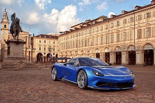 El Pininfarina Battista llegó renovado al Auto Show de Turín