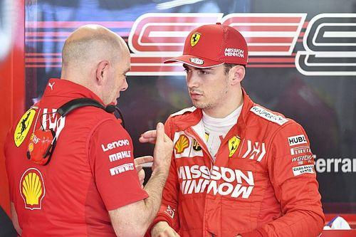 Leclerc murka usai blunder Ferrari di Q1