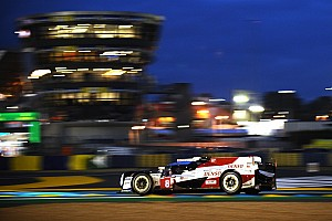 Le Mans 24h: Toyotas swap places as night falls