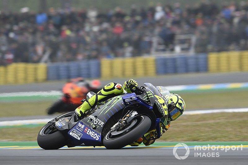 Rossi impuissant face à Márquez et aux Ducati