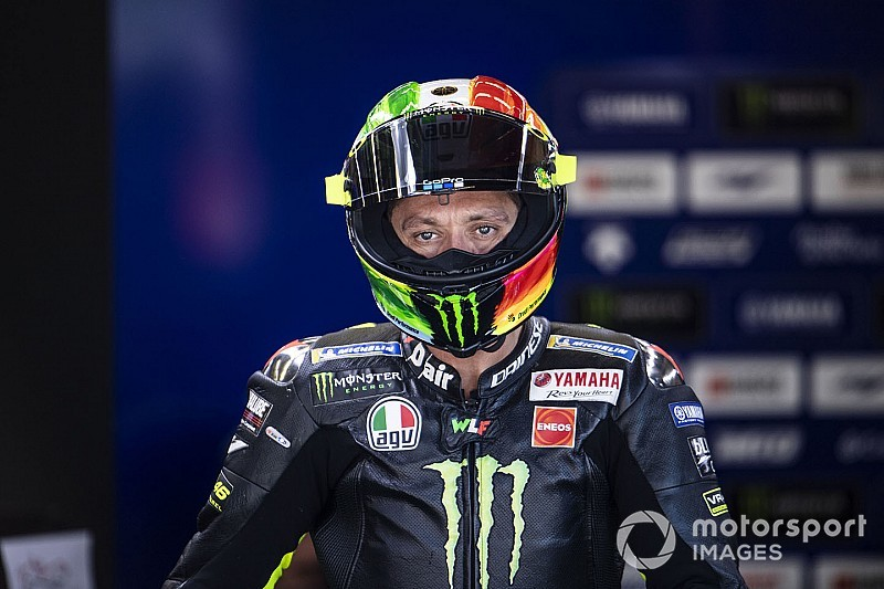 "Rossi trained at ""forbidden"" track as post-Mugello ""therapy"""