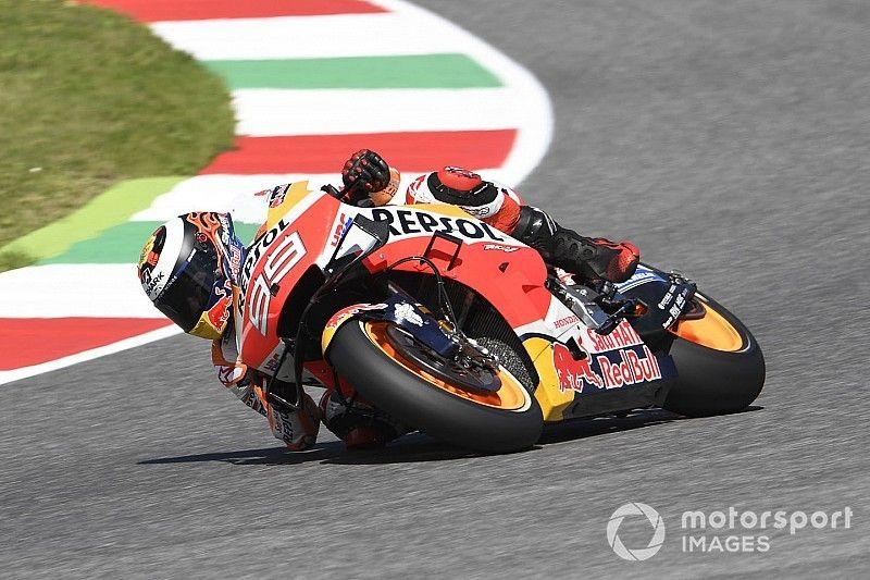 """Comment Lorenzo tente de """"ducatiser"""" le freinage de la Honda"""