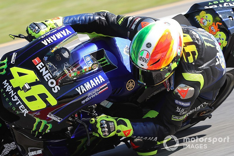 """Rossi qualifying doomed by """"key moment"""" in FP3"""