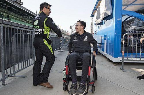 Wickens maakt comeback achter het stuur met handbediende Acura