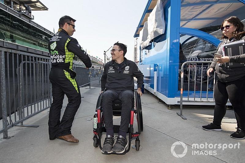 Уикенс впервые сядет за руль после прошлогодней аварии