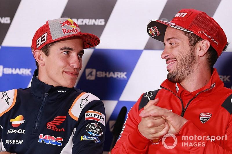 Положение в общем зачете MotoGP после Гран При Чехии