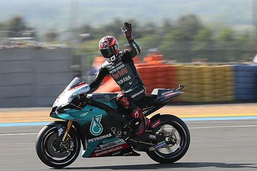 MotoGP, Le Mans, Libere 1: Quartararo davanti alle Ducati, Rossi decimo