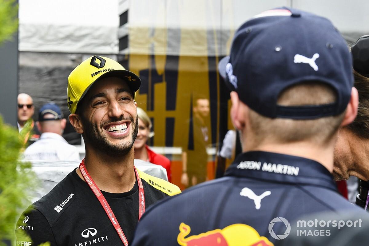 """Keert Ricciardo terug naar Red Bull? """"Zeg nooit nooit"""""""