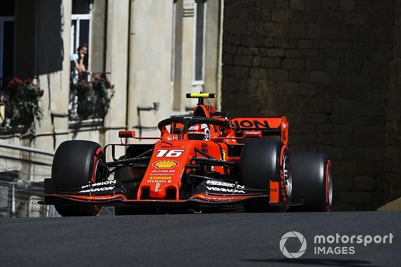 """Leclerc tevreden over updates Ferrari: """"Gaat de goede kant op"""""""