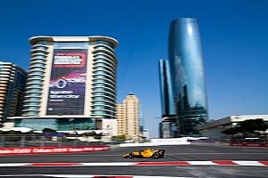 Baku F2: Aitken emerges with victory in chaotic race