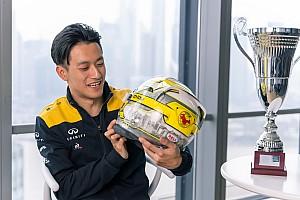 周冠宇代表雷诺参加虚拟巴林大奖赛