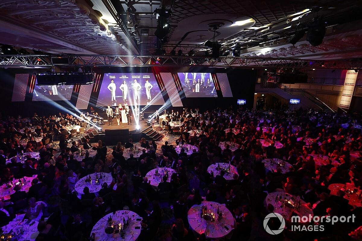 Autosport Awards : les stars des sports mécaniques honorées à Londres
