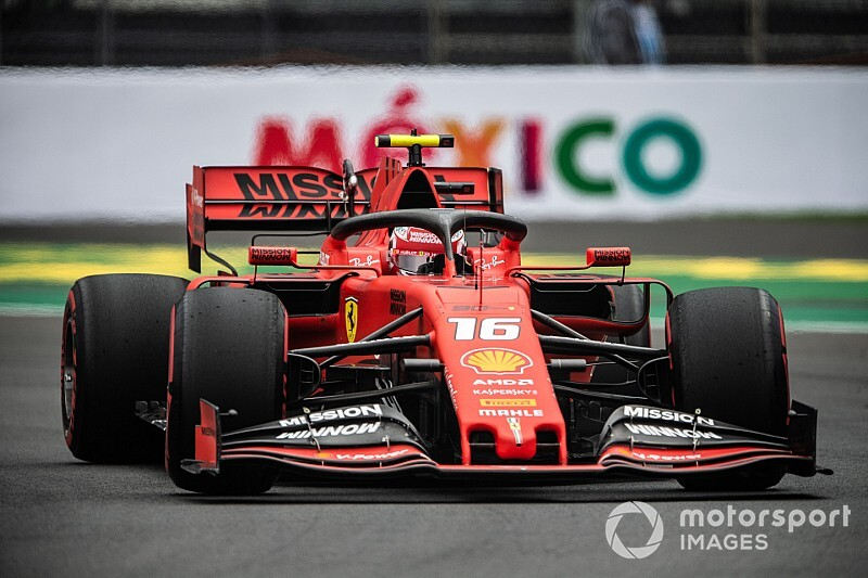 Leclerc bovenaan in derde training Mexico, zesde tijd Verstappen