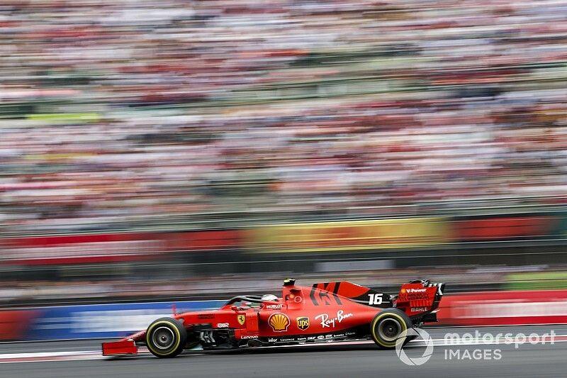 Ferrari revisa la caja de cambios de Leclerc a última hora