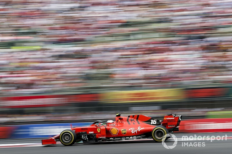 Carro de Leclerc tem problemas e Ferrari 'voa' para resolver antes do GP do México