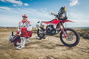 Laia Sanz, con los colores de GasGas en el Dakar 2020