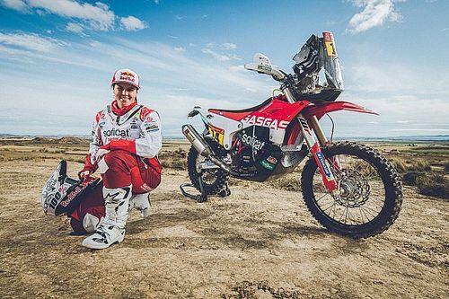 Laia Sanz lucirá los colores de GasGas en el Dakar 2020