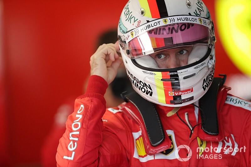 Mais rápido do dia, Vettel diz que Ferrari tem que melhorar no Brasil