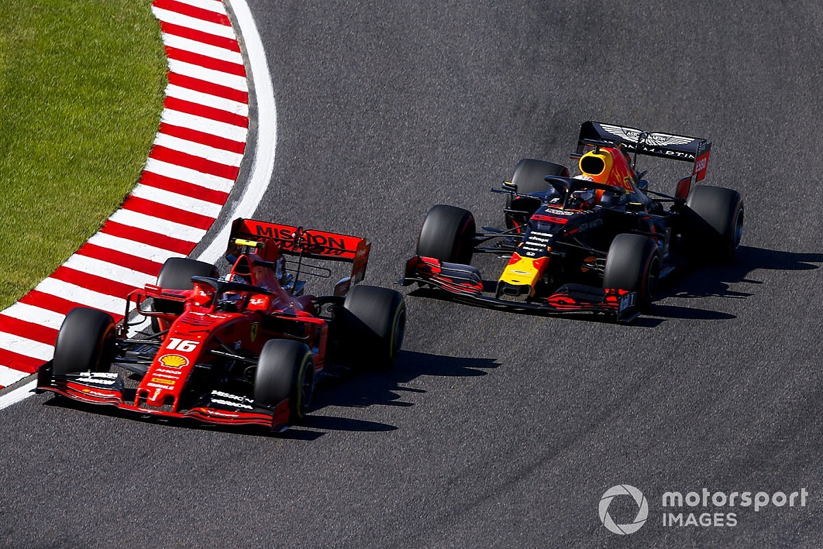 Leclerc assume a culpa por acidente com Verstappen no GP do Japão