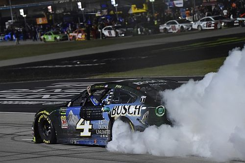 Kevin Harvick: No post-victory celebrations until fans return