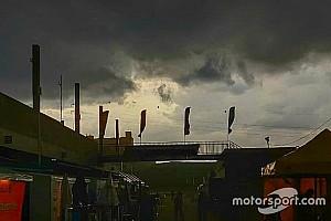 Tempestade atrapalha atividades da Stock Car em Cascavel