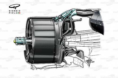 Revealed: Mercedes cooling idea that F1 rivals are looking at