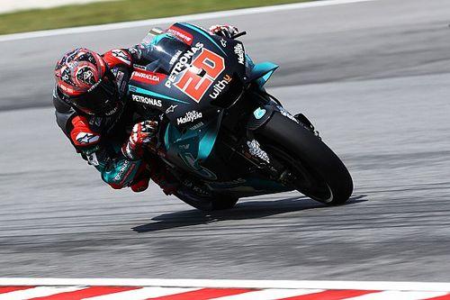 MotoGP: Quartararo domina treinos livres e bate recorde de Sepang