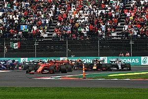 """Vettel: """"Zag Hamilton niet door dode hoek"""""""
