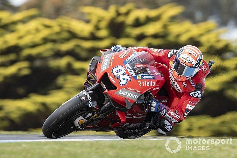 """Dovizioso não fica """"tão feliz"""" com vice-campeonato da MotoGP"""