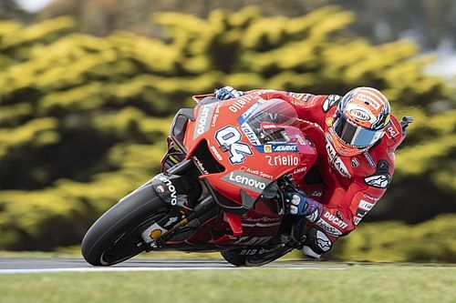 "Dovizioso ""not that happy"" to seal runner-up spot"