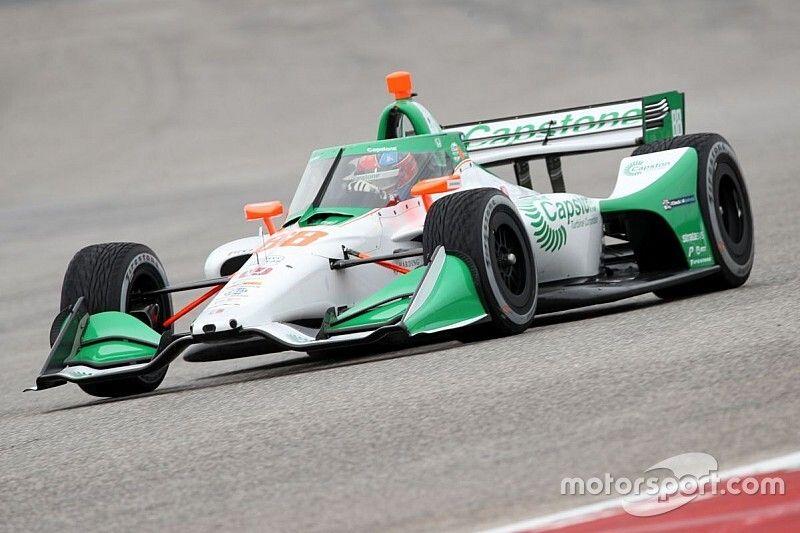 Andretti Autosport: a fuoco il bilico con la vettura di Herta